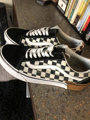 Checkered vans for Sale in Nacogdoches, TX