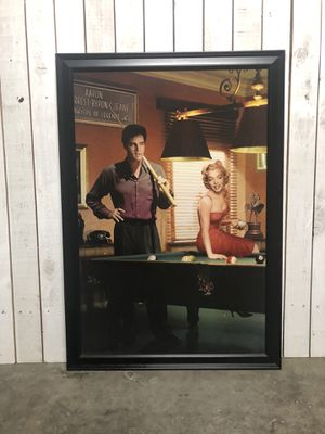 Elvis & Marilyn Picture for Sale in North Las Vegas, NV