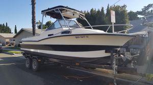 1981 nautique 23' correct craft cuddy cabin fishing boat for Sale in Orange, CA