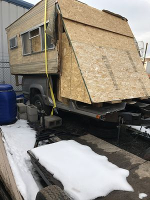 Unfinished custom trailer on 01 suburban frame titled and tagged for Sale in Westminster, CO