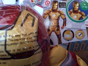 Iron man costume kids halloween for Sale in San Diego, CA