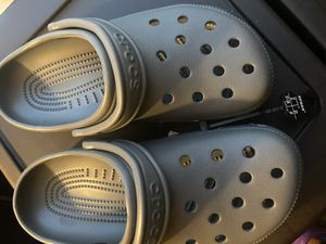 Brand new gray crocs size 5 for Sale in Hampton, VA