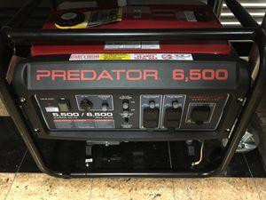 Predator 6,500 Watt Generator New for Sale in Rockville, MD
