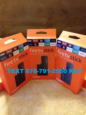 3rd Gen Amazon Fire TV stick / Loaded for Sale in Ellenwood, GA