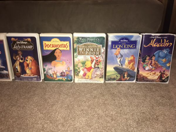 Vintage Disney vhs collectibles