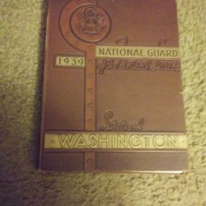 1939 Washington National Guard Yearbook for Sale in Silverdale, WA