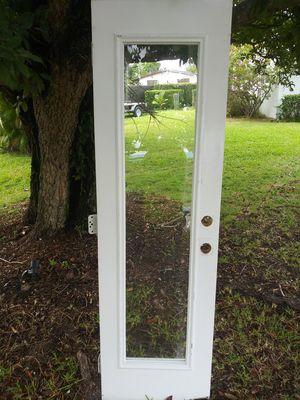 Exterior metal full view door for Sale in Oakland Park, FL