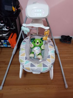 Fisher price 2-in-1 swing like new for Sale in Los Angeles, CA