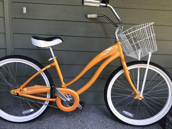 "Giant ""Simple"" Single Speed Ladies Beach Cruiser Bike (17"" Frame)"