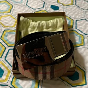Burberry Men's Belt Size 90 (30-34) for Sale in Buford, GA