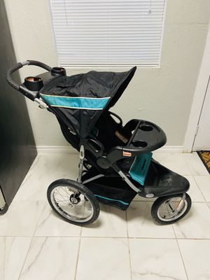 Baby Trend Jogging Stroller 3 wheels Workout Running Exercise with kid for Sale in Garland, TX