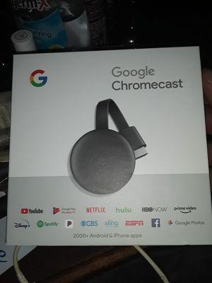 Google Chromecast(BRAND NEW) for Sale in Ennis, TX
