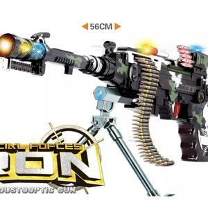 Free Shipping - TOY Battery Electric FUN Military Machine Gun Flash Sound Vibration Light Kid 3+ for Sale in San Diego, CA