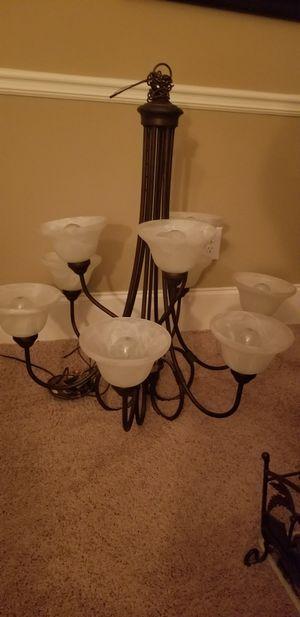9 light chandelier for Sale in Fayetteville, GA