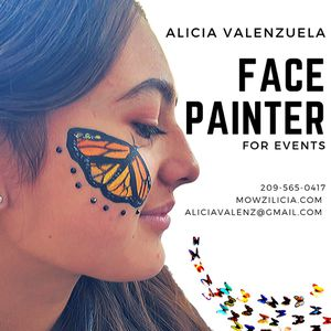 Smiles by Face paint by Facepainter and artist Alicia for Sale in Stockton, CA