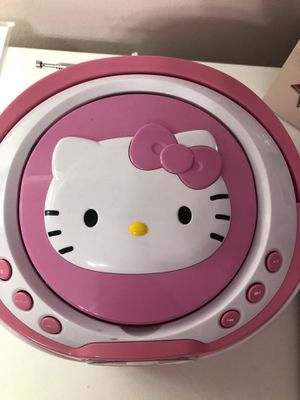 Hello Kitty CD player for Sale in Toms River, NJ