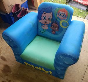 Used Bubble Guppies chair for Sale in Bridgeport, WV