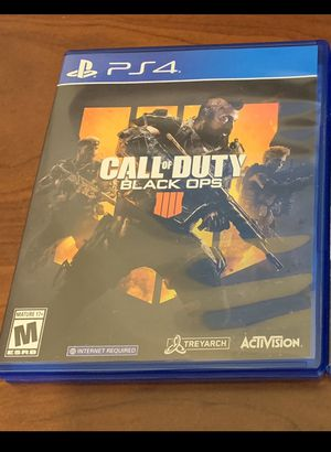 Ps4 black ops 4 for Sale in Los Angeles, CA