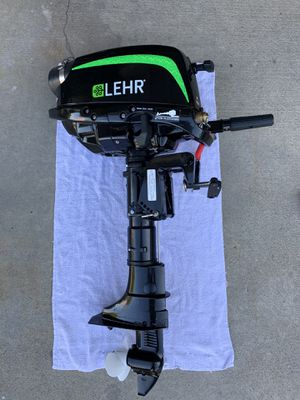 LEHR 5HP Propane Outboard for Sale in HUNTINGTN BCH, CA