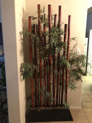 Large artificial bamboo decor for Sale in Cypress, TX