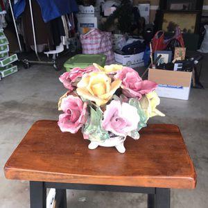 Porcelain Flower Vase for Sale in Diamond Bar, CA
