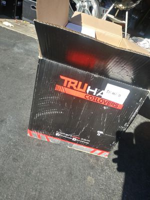 TruHart streetplus coilovers brand new /15 16 17 18 19 20 22 in inch rim rims tire tires wheel wheels for Sale in Moreno Valley, CA