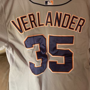 Verlander Detroit Tigers Size 48 jersey for Sale in Manalapan Township, NJ