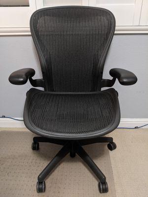 Herman Miller Aeron Chair size C for Sale in Las Vegas, NV