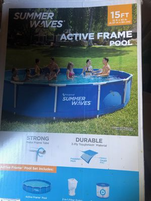 Pool & cover for Sale in Waterbury, CT