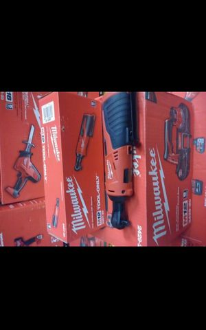 MILWUAKEE M12 CORDLESS 3/8 RATCHET TOOL ONLY BRAND NEW for Sale in San Bernardino, CA