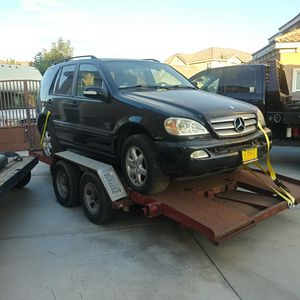 03 Mercedes-Benz ML350 4x4 parts car only for Sale in Palmdale, CA