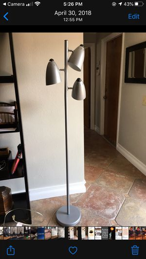MID CENTURY MODERN POLE LAMP for Sale in Winter Haven, FL