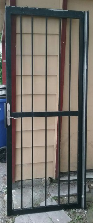 """36"""" Black Security Door for Sale in Cleveland, OH"""