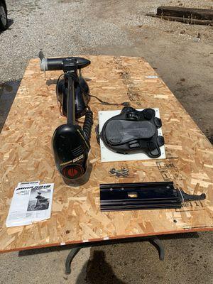 Minn Kota genesis bow mount electric/ trolling motor for Sale in Nine Mile Falls, WA