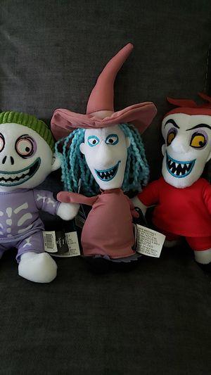 Lock Shock & Barell The Nightmare Before Christmas !!! READ DESCRIPTION!!!!! for Sale in Pico Rivera, CA