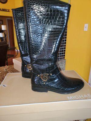 Croco Tall Michael Kors rain boots for Sale in Grand Prairie, TX