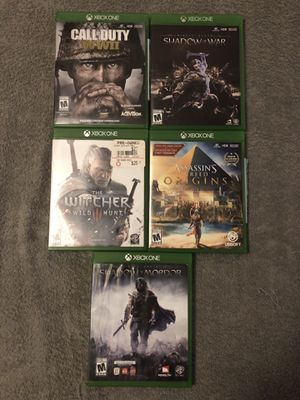 5 Xbox One Games for Sale in Frostproof, FL
