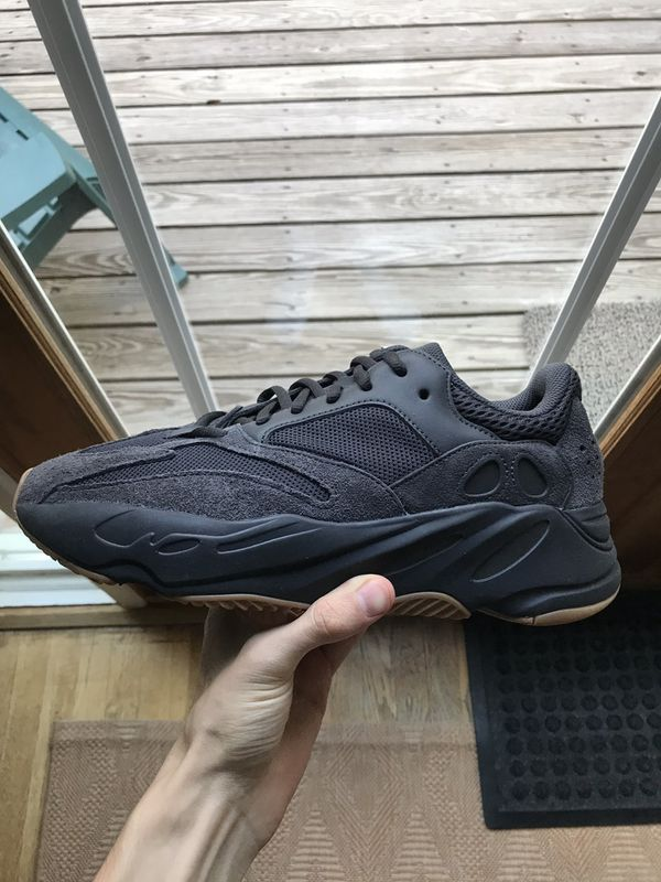 "Yeezy 700 ""Utility Black"" size 10 with box and receipt"
