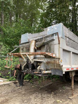 1960 24 ft end dump trailer for Sale in Auburn, WA