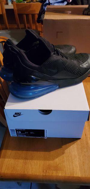 Nike air max 270 black photo blue for Sale in Gilbert, AZ