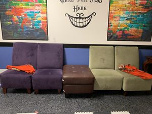 Chairs and ottoman for Sale in San Ramon, CA