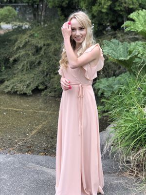 Pink prom dress Lulus XS for Sale in Portland, OR