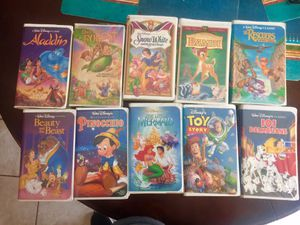 Disney VHS tapes for Sale in Tempe, AZ