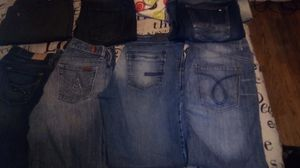 Men's jeans all name brands for Sale in Fresno, CA
