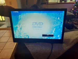 sanzu 20 inch tv with dvd player for Sale in Lacey, WA