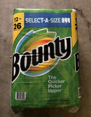 Bounty select a size 12 roll packs ! for Sale in Euless, TX