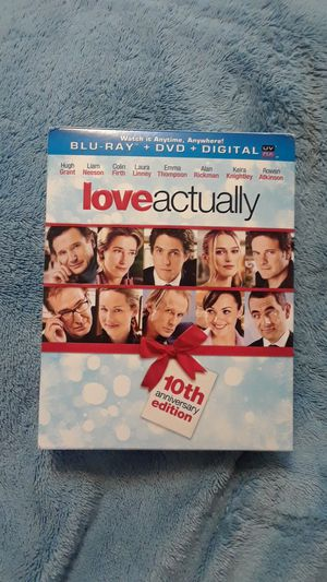 Love Actually , Blu-Ray & DVD , 10th Anniversary Digital Restoration, PLUS Christmas Ornament for Sale in Pasadena, CA