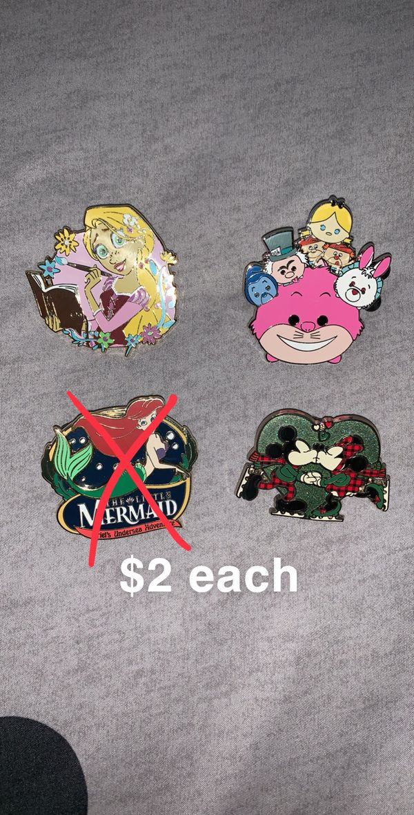 Disney Park Pin & Pin Sets