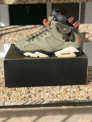 Nike air Jordan 6 Travis Scott for Sale in College Park, GA