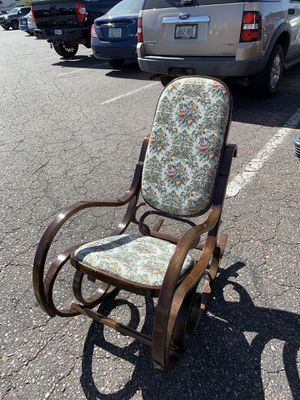 Gorgeous vintage embroidered rocking chair for Sale in Mesa, AZ